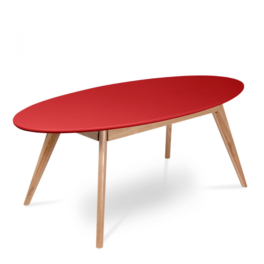 Table basse ovale retro - Table basse inspiration scandinave ...