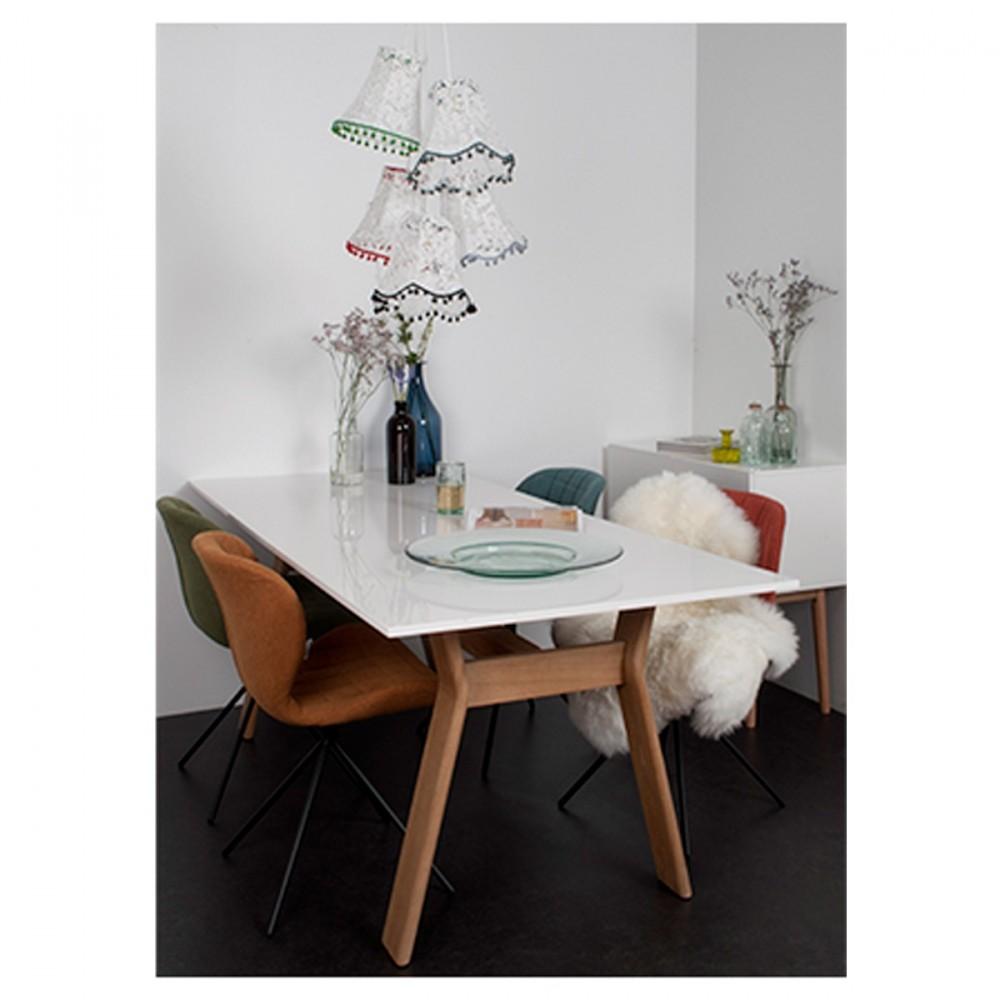 Chaises design zuiver style retro bleu pastel omg for Soldes chaises design