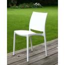 Lot de 2 chaises design Tessa blanche ambiance