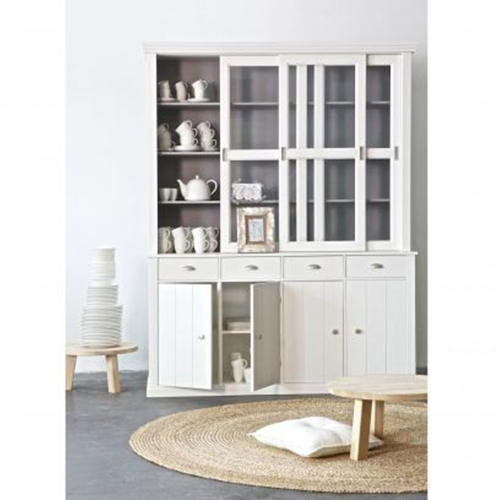 vaisselier blanc. Black Bedroom Furniture Sets. Home Design Ideas