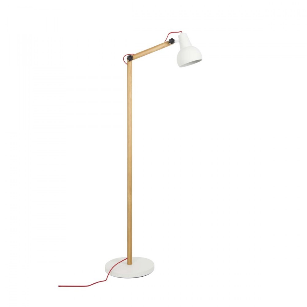 lampadaire design bois m tal study par. Black Bedroom Furniture Sets. Home Design Ideas