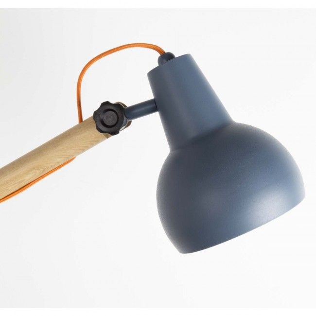 detail lampe grise