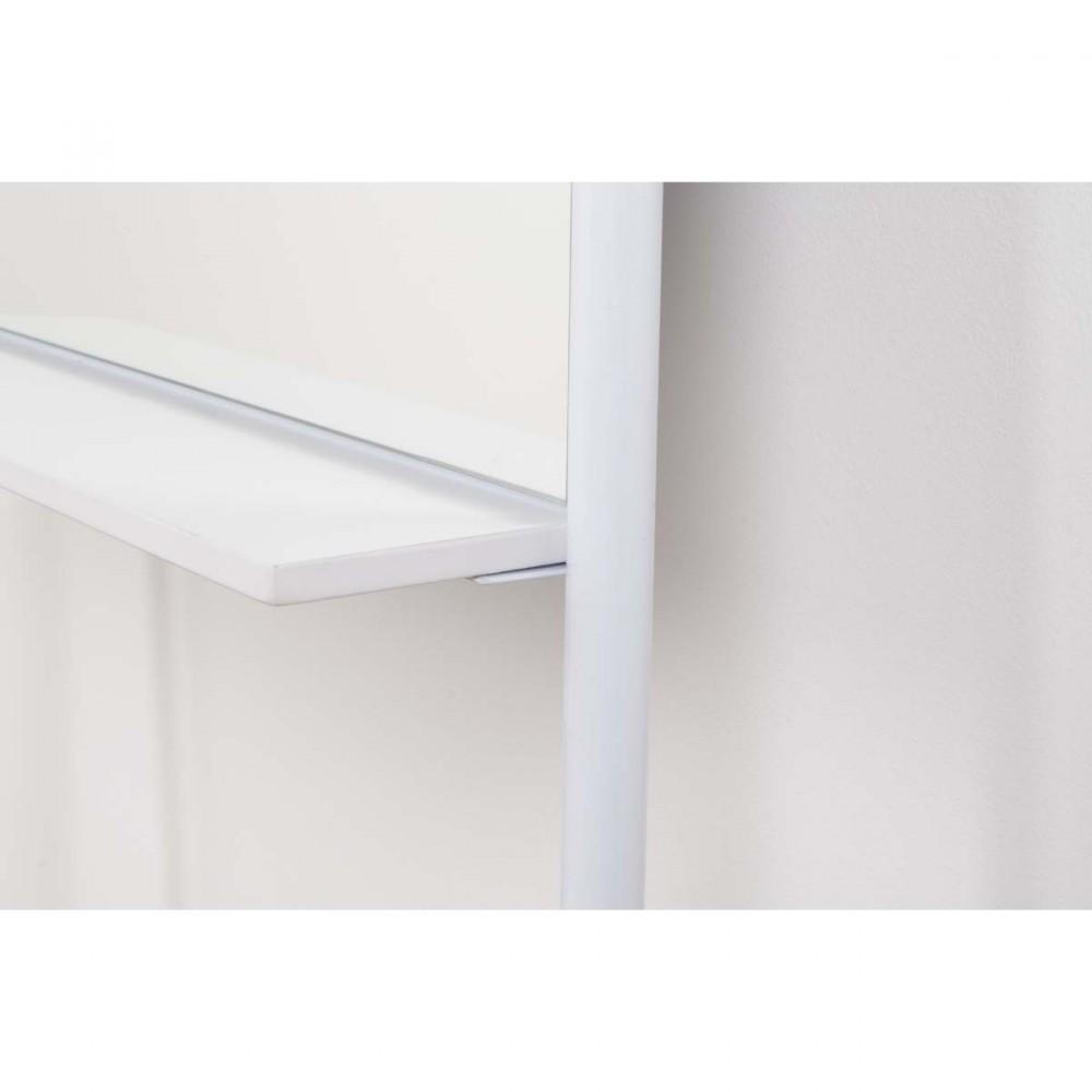 Miroir sur pied blanc ladder zuiver for Miroir zuiver