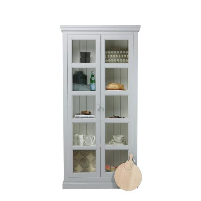 vaisselier en pin gris ou blanc servaas par. Black Bedroom Furniture Sets. Home Design Ideas