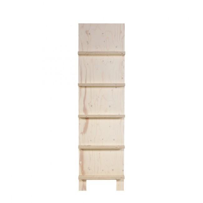 Porte revues en bois clair Henny
