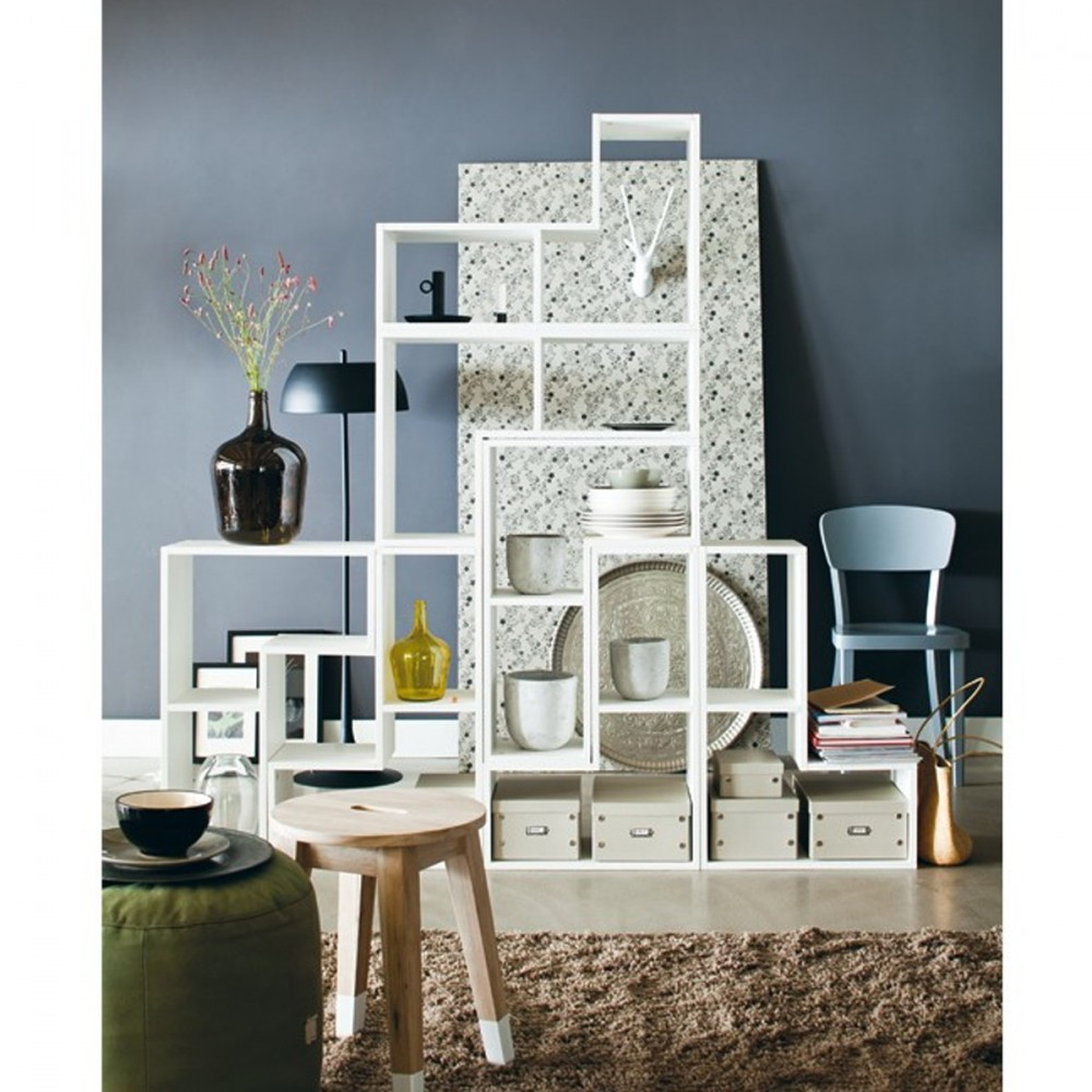 rangement design modulaire en bois massif filippus par. Black Bedroom Furniture Sets. Home Design Ideas
