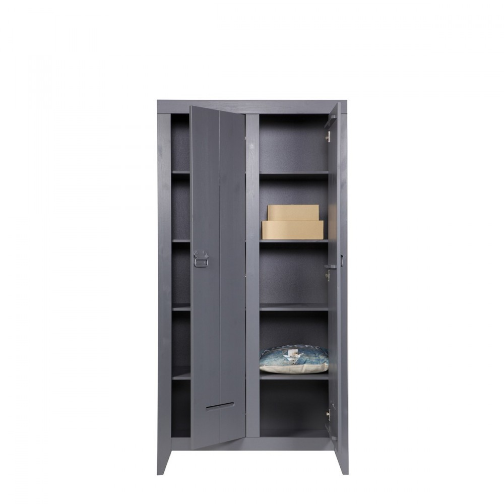 armoire en pin bross til par. Black Bedroom Furniture Sets. Home Design Ideas