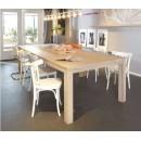 Table à manger en chêne brut Dutchwood detail