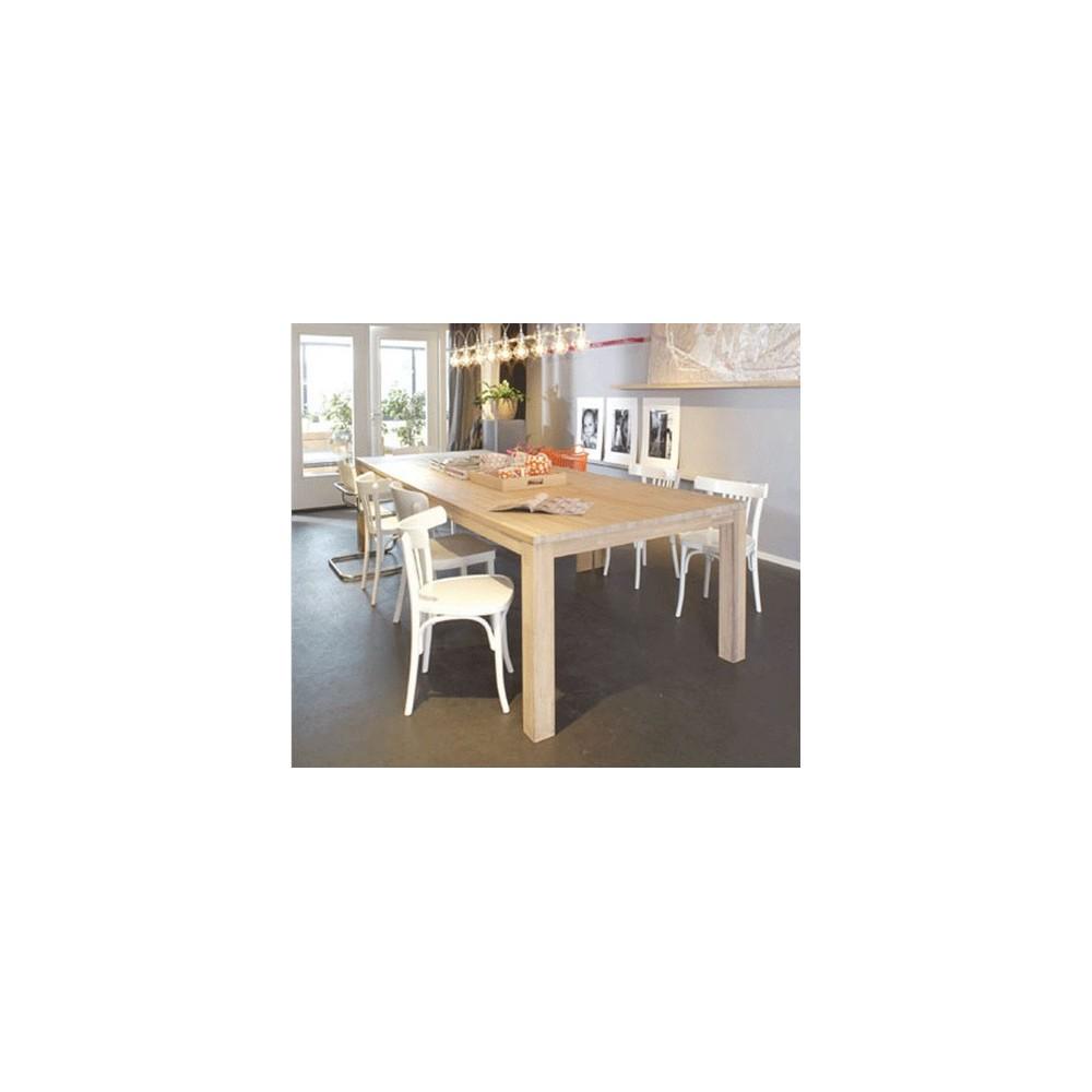 Table manger en ch ne brut dutchwood par drawer - Proteger une table en bois brut ...