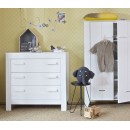 Armoire blanche pin brossé Veer