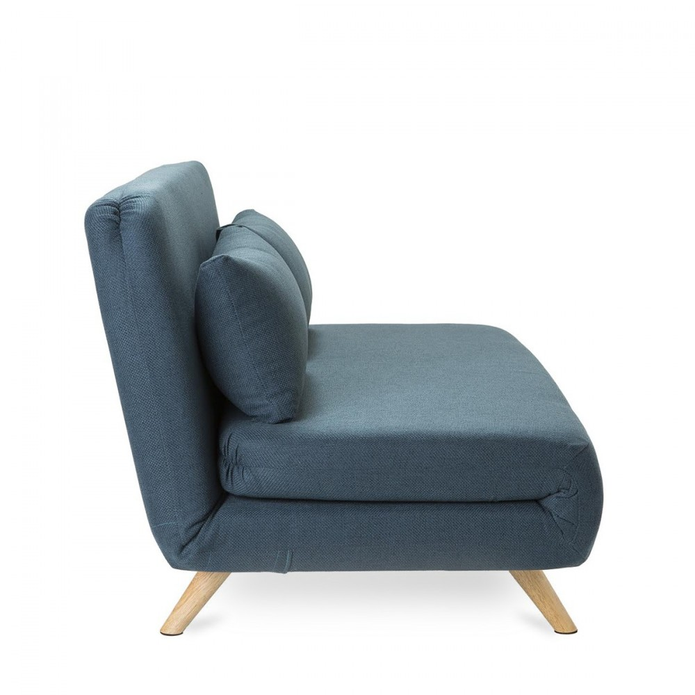 Canap design scandinave clic clac 2 places john - Canape 3 2 convertible ...