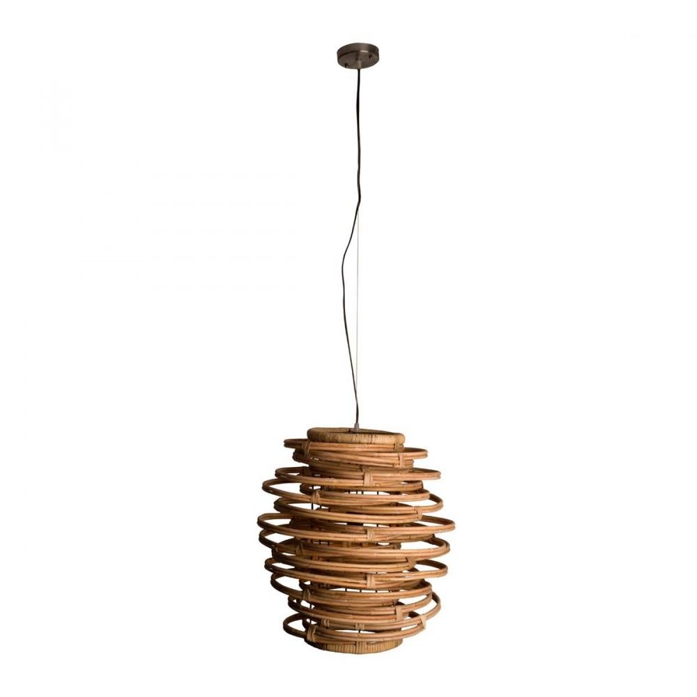 suspension en rotin kubu par. Black Bedroom Furniture Sets. Home Design Ideas