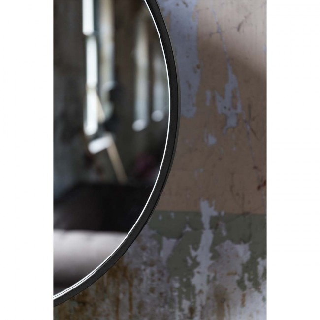 Miroir métal industriel Attractif 16' Dutch Bone par Drawer