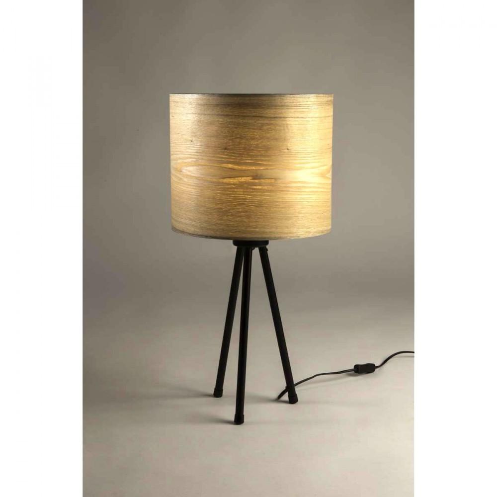 lampe poser tripode woodland par. Black Bedroom Furniture Sets. Home Design Ideas