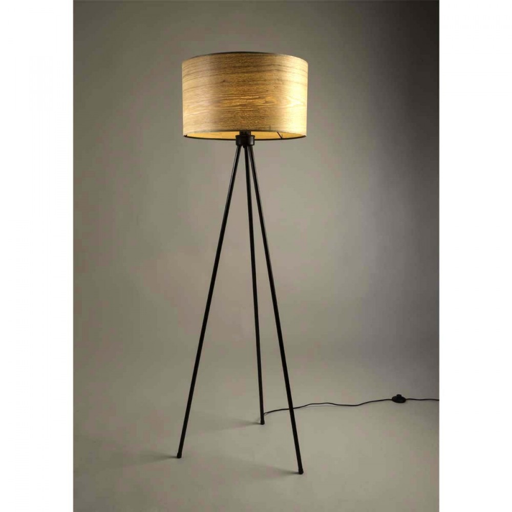 Lampadaire Tr Pied Bois Woodland