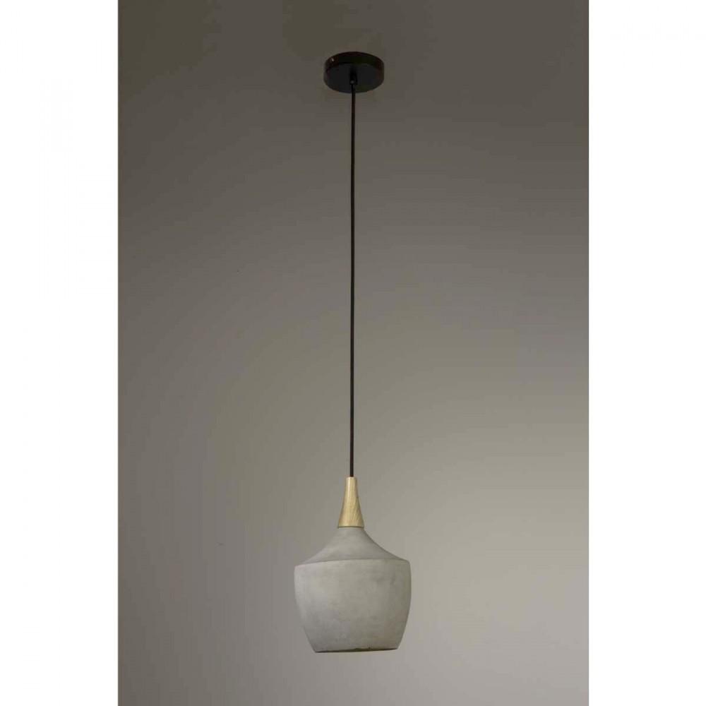 Suspension Design Bois - Suspension béton& bois Carafe par Drawer fr