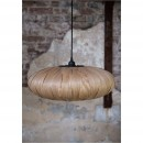 Suspension bois Bond Oval ambiance