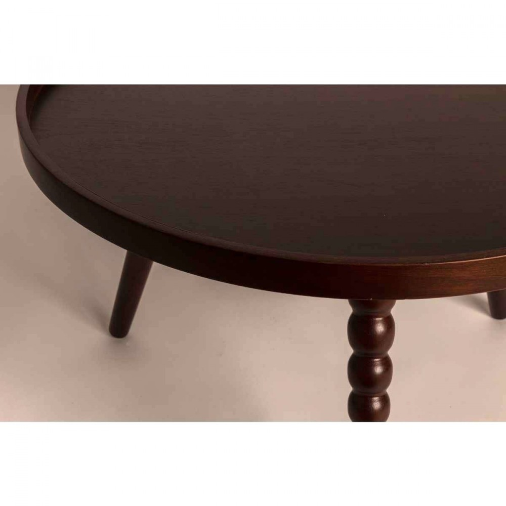 table basse noyer arabica xl par. Black Bedroom Furniture Sets. Home Design Ideas