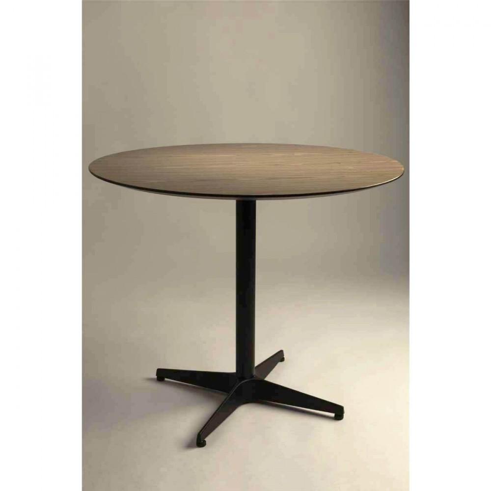 Table manger ronde vintage en bois nuts par drawer - Table ronde en bois ...