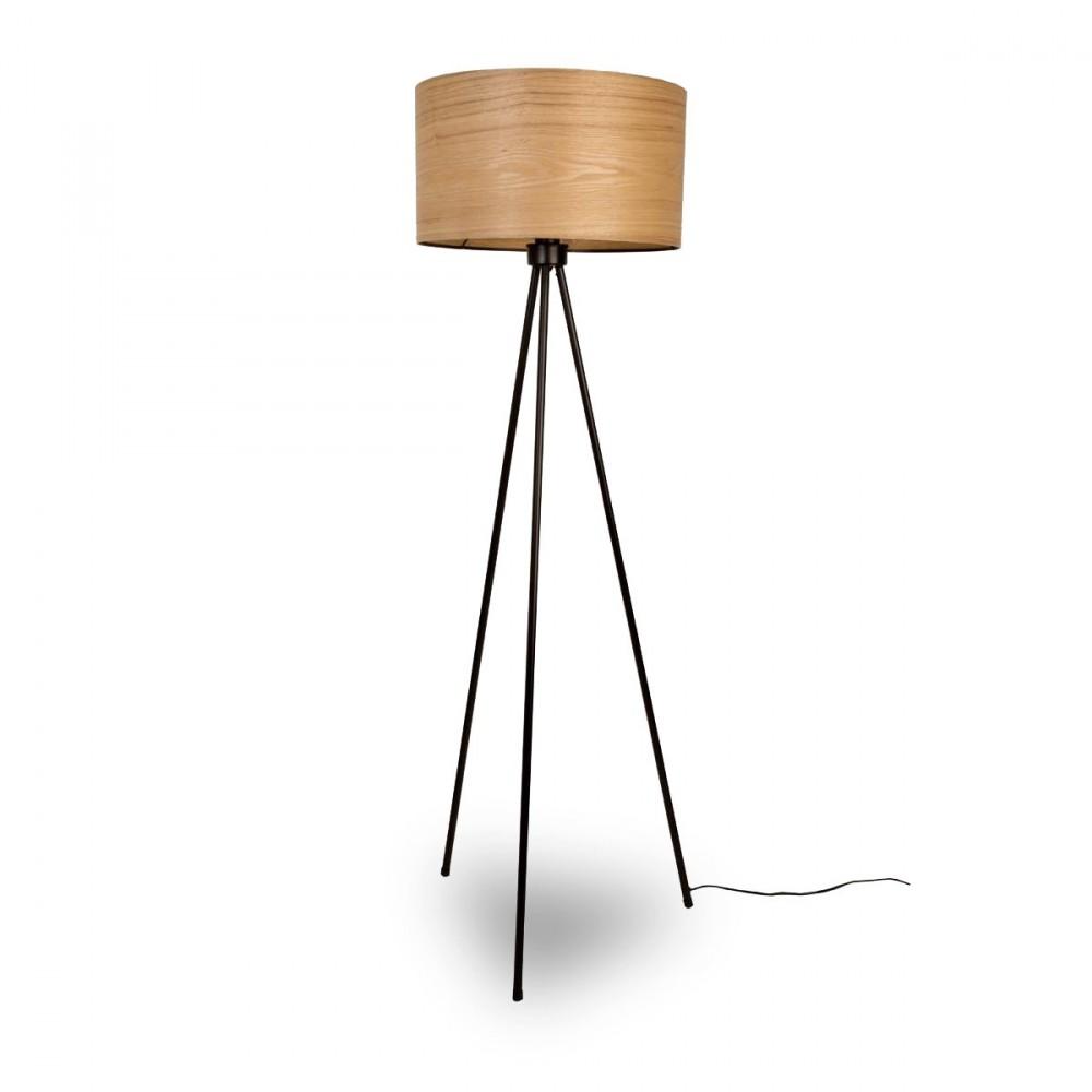 lampe trepied bois. Black Bedroom Furniture Sets. Home Design Ideas