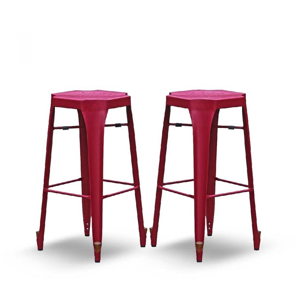 tabouret bar rose. Black Bedroom Furniture Sets. Home Design Ideas