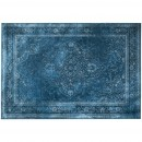 Tapis vintage Rugged bleu horizontal