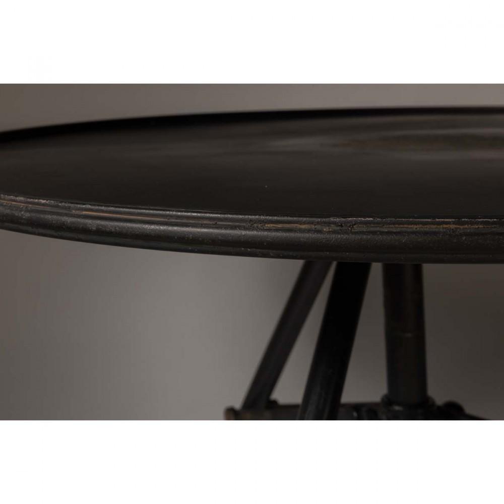 Table basse m tal ronde indus brok par - Table basse ronde industrielle ...