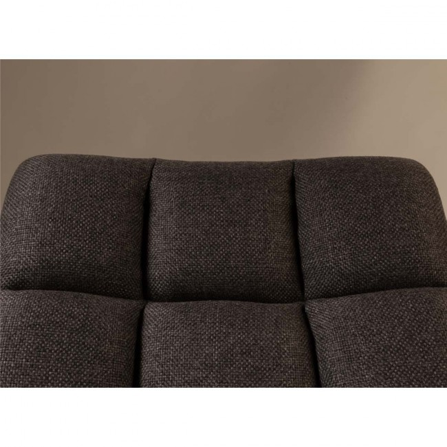 Fauteuil tissu pivotant Lounge detail