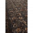 Tapis Indian Block gris detail tissu