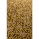 Tapis Indian Block jaune detail