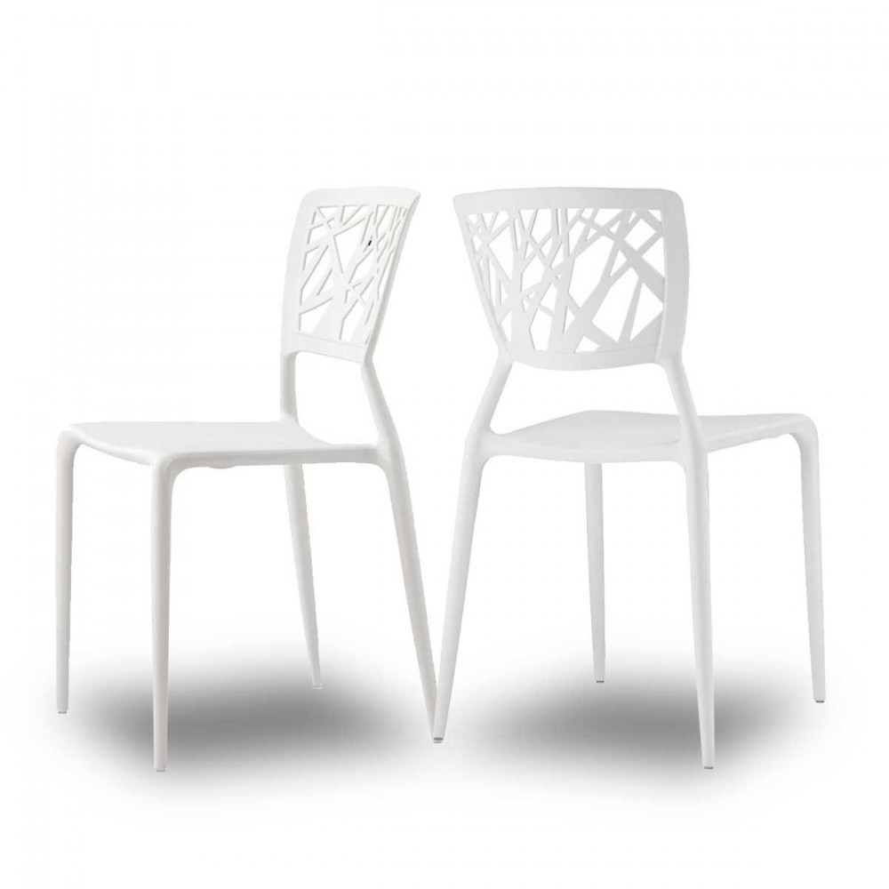 Chaise design blanche for Chaise design blanche