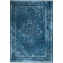 Tapis vintage Rugged bleu