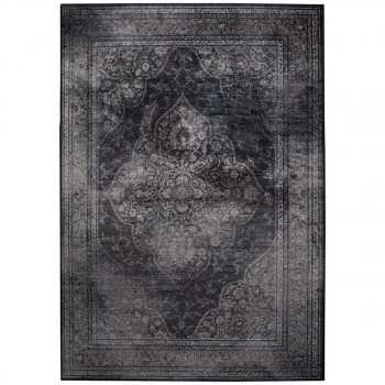 Tapis vintage Rugged gris