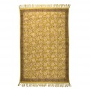 Tapis Indian Block jaune