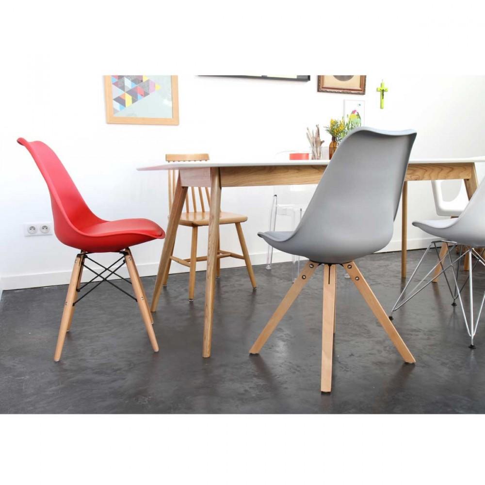 lot de 2 chaises design ormond wood par. Black Bedroom Furniture Sets. Home Design Ideas