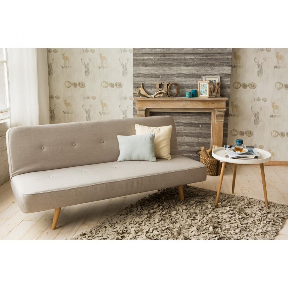 canap convertible tissu siri look scandinave petit prix. Black Bedroom Furniture Sets. Home Design Ideas