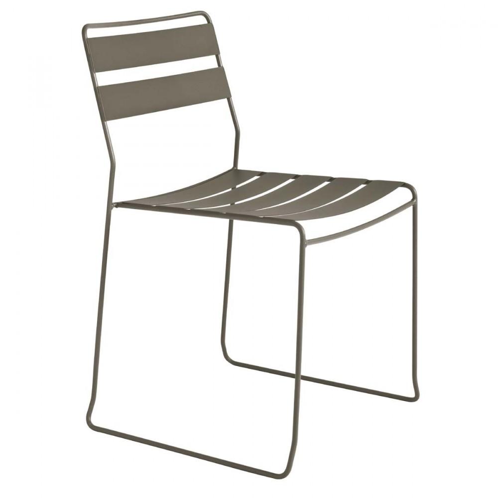 chaise de jardin design m tal pasadena par. Black Bedroom Furniture Sets. Home Design Ideas