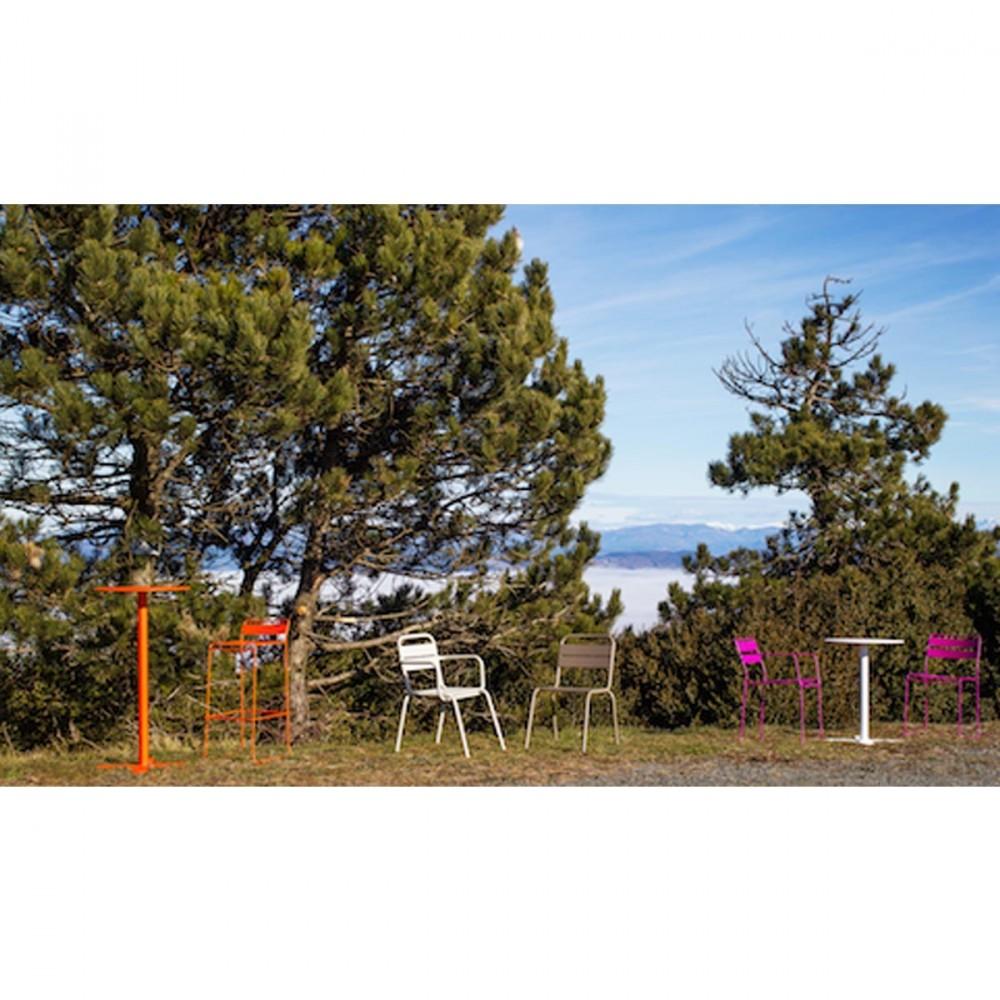 Table haute de jardin design san mateo d60 par for Jardin designer