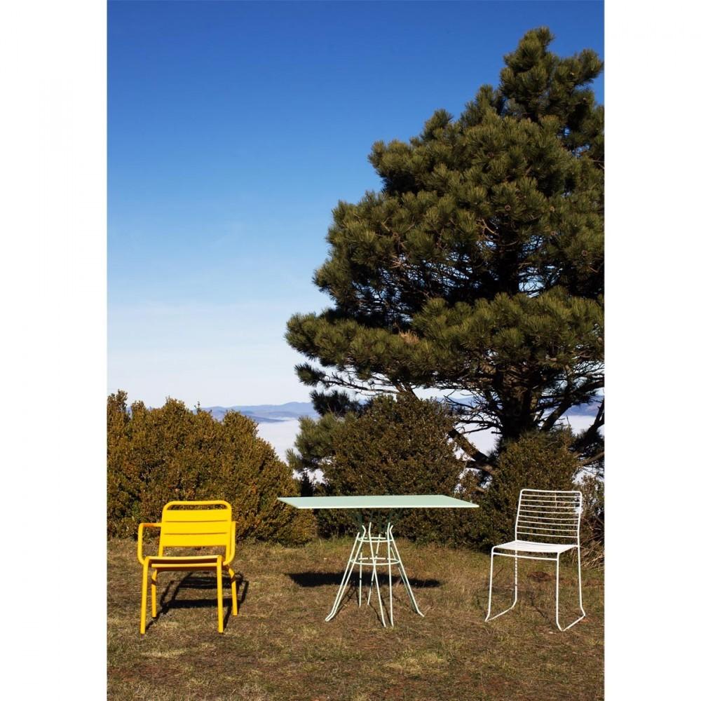 Table de jardin design rectangulaire Alameda 110x70 par Drawer.fr