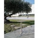 Table haute de jardin design pliante San Mateo D60