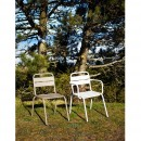 Chaise de jardin design métal Visalia