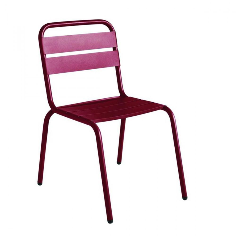 Chaise de jardin design visalia color e par for Chaise de jardin newton