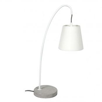 Lampe à poser design béton Concrete