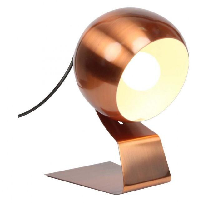 Lampe à poser design métal Mimosa chrome