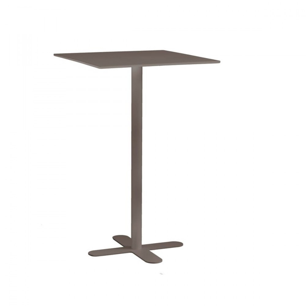 table haute de jardin design carr e 60x60 san mateo. Black Bedroom Furniture Sets. Home Design Ideas