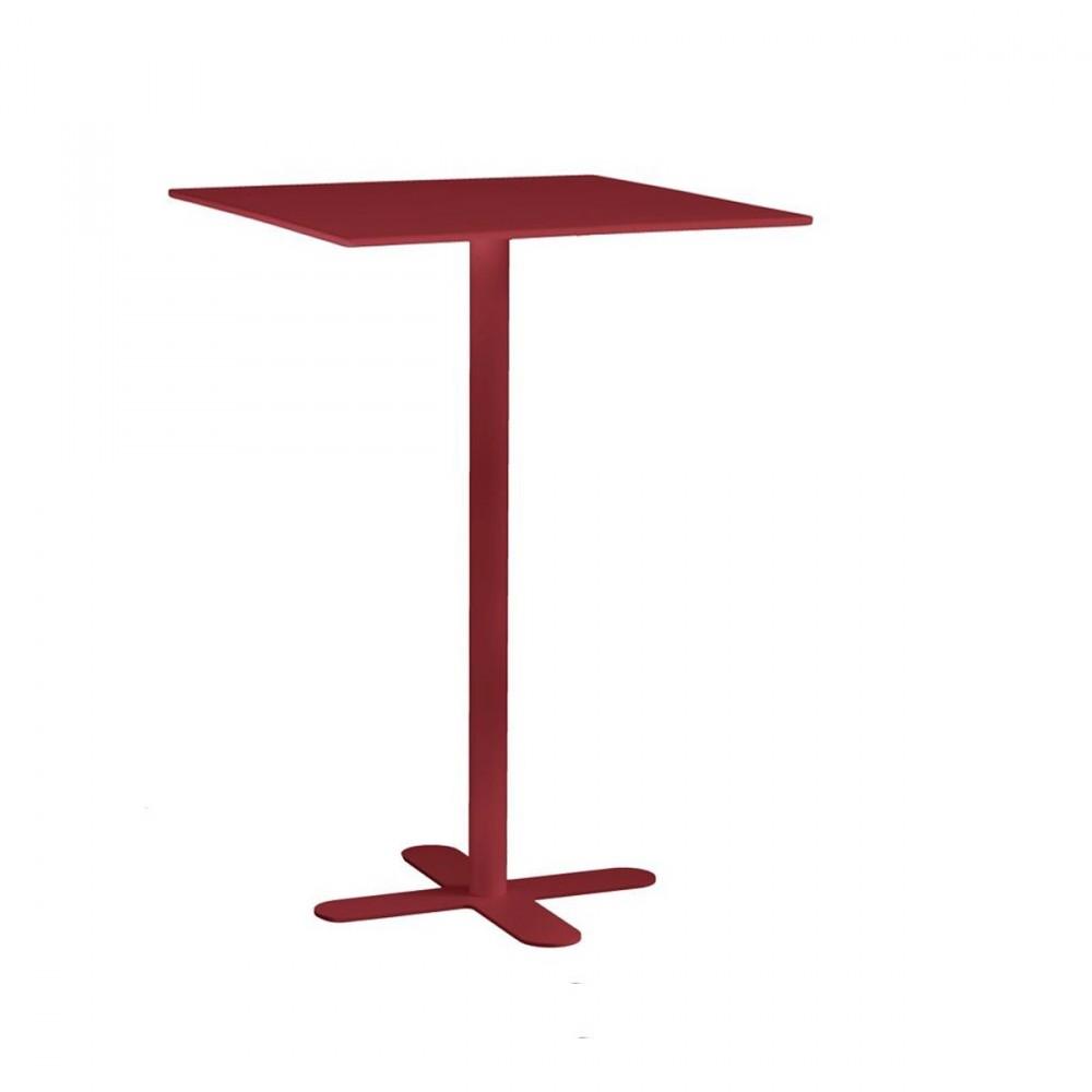 Table Haute De Jardin Design San Mateo Carr E 80x80 Par