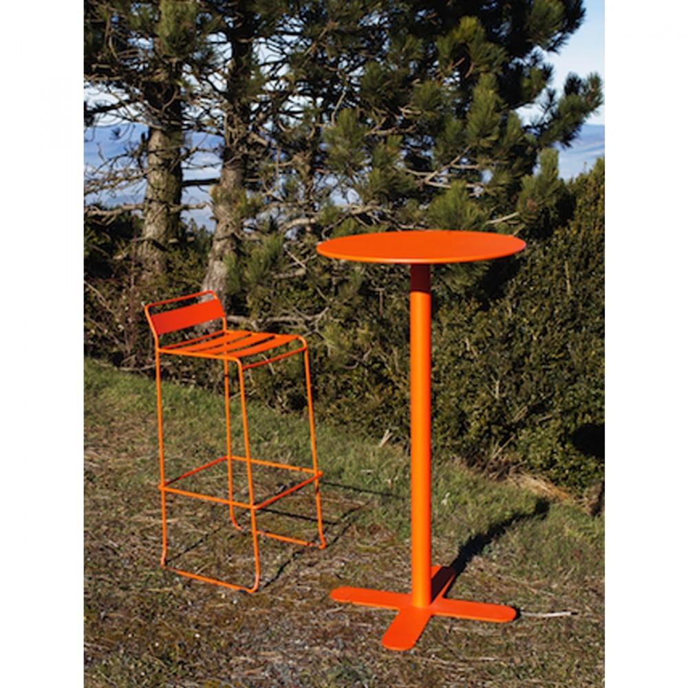 Table haute de jardin design san mateo d80 par - Table de jardin haute ...