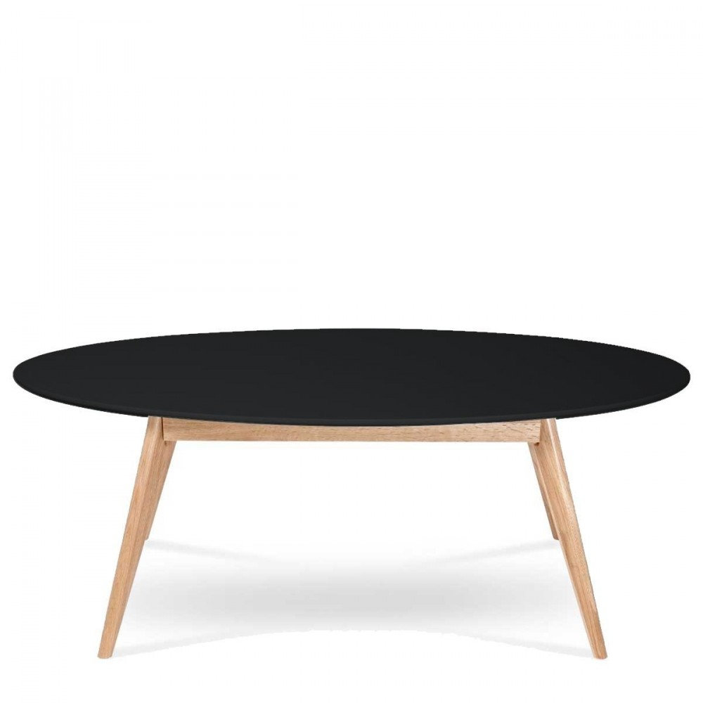 Table basse noir vernis for Table basse design noir