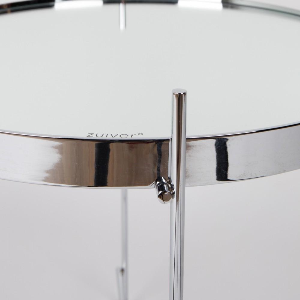 Table basse design ronde cupid small en m tal for Miroir design en solde