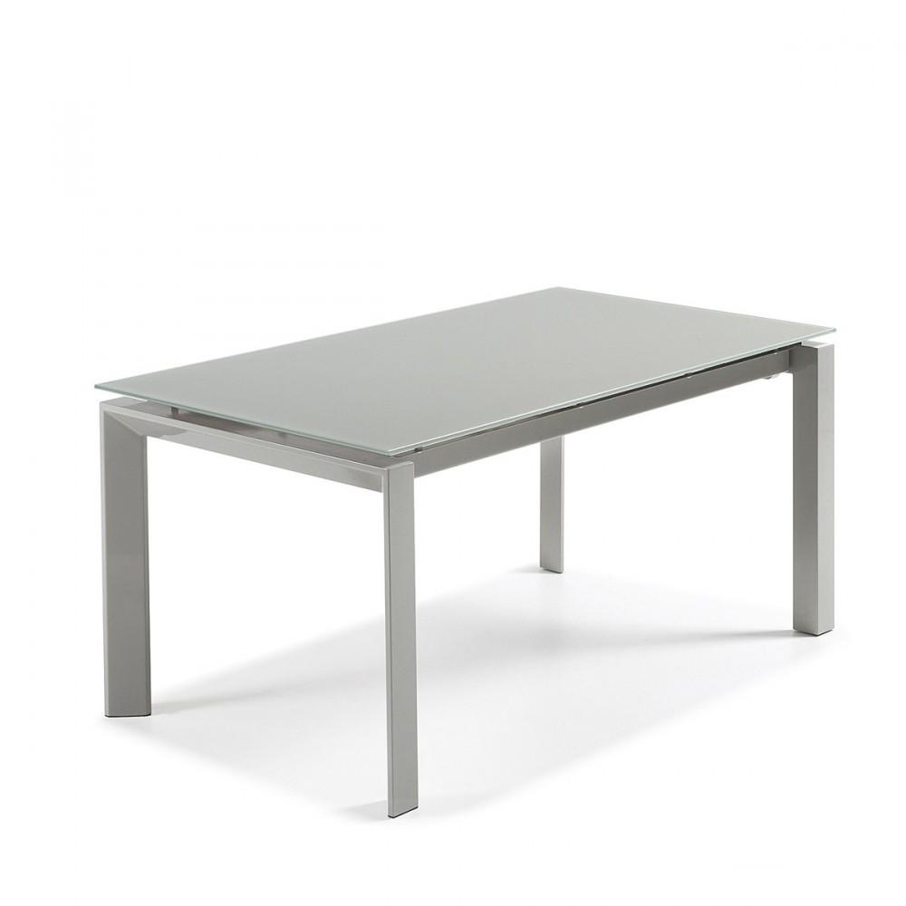 Table Manger Extensible Acier Okila Sur Drawer